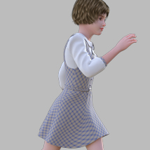 GaoDan Uniforms 11 for Genesis 3 Female(s) image 5