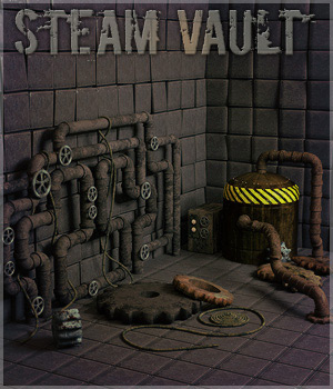 Steam Vault 3D Models lilflame