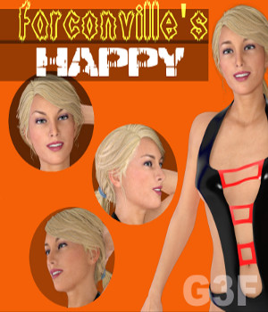 Genesis 3 Female HAPPY 3D Figure Essentials farconville