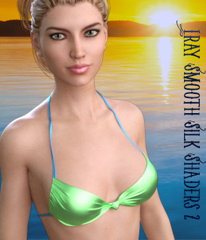 Iray Smooth Silk Shaders 2 - Merchant Resource 3D Figure Essentials Merchant Resources fictionalbookshelf