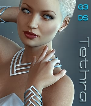 Tethra Jewels for G3F 3D Figure Essentials fabiana