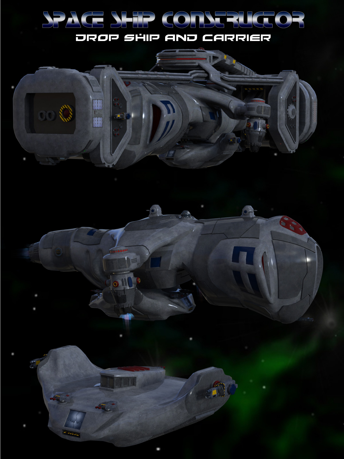 Space Ship Constructor Drop Ship