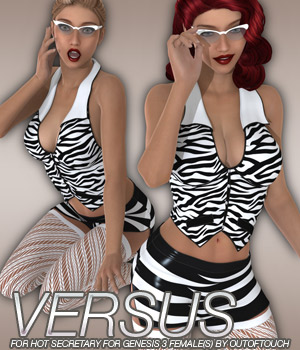 VERSUS - Hot Secretary for Genesis 3 Female(s) 3D Figure Assets Anagord