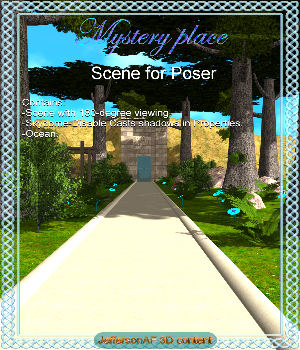 Mystery place Poser 3D Models JeffersonAF