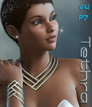 Tethra Jewels for V4.2 3D Figure Essentials fabiana