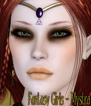 Fantasy Girls - Mystra 3D Figure Essentials kaleya