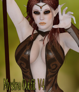 Mystra Outfit V4/A4/Elite 3D Figure Essentials kaleya