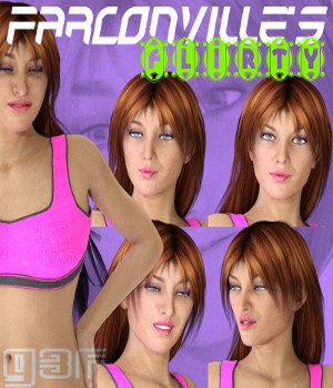 FLIRT for Genesis 3 Female 3D Figure Essentials farconville