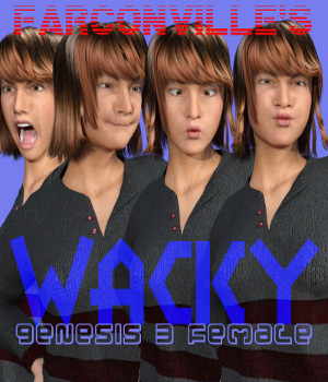 WACKY for Genesis 3 Female 3D Figure Essentials farconville