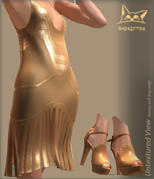 Gatsby Flapper V4 3D Figure Essentials BadKittehCo