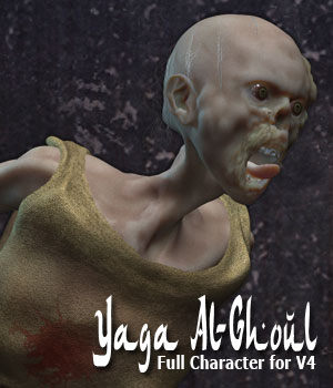 Yaga Al-Ghoul for Victoria 4 3D Figure Assets ile-avalon