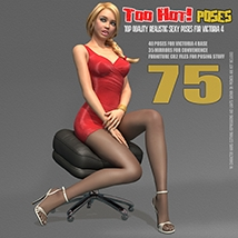 Too Hot! - Poses for V4 image 7