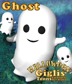 Gigli Halloween - Ghost 3D Models sixus1