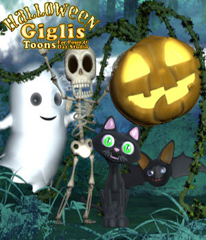 Gigli Halloween Bundle 3D Models sixus1