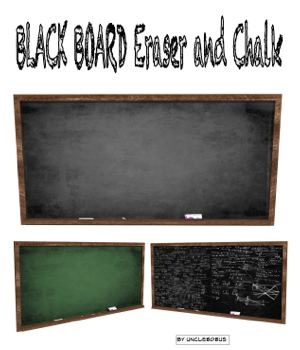 BlackBoard 3D Models uncle808us