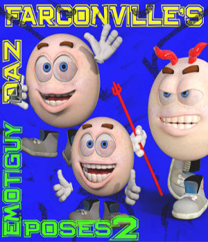 Emotiguy Poses 2 3D Figure Essentials farconville