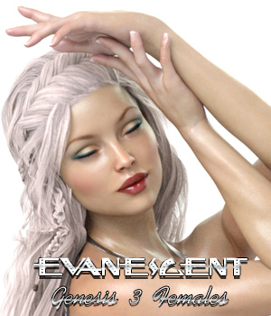 Evanescent For Genesis 3 Females 3D Figure Assets -dragonfly3d-