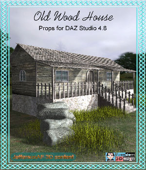 Old Wood House 3D Models JeffersonAF