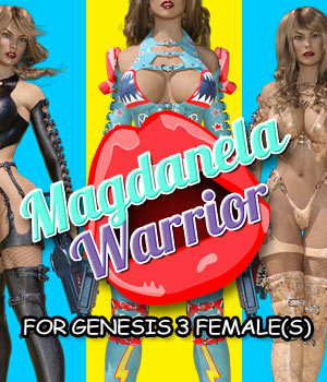 Magdanela Warrior for G3 female(s) 3D Figure Assets powerage