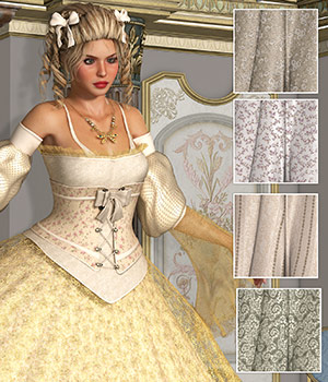 PM - Marie Antoinette 2D Graphics Merchant Resources Atenais