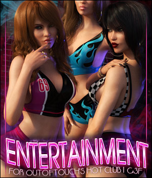 Entertainment for HOT Club I 3D Figure Assets ShanasSoulmate