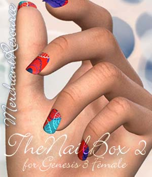 The Nail Box II G3F 3D Figure Essentials Merchant Resources alexaana