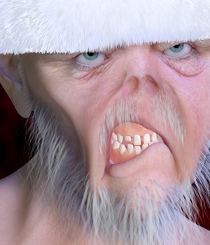 Living Dead Santa 3D Figure Essentials Tempesta3d