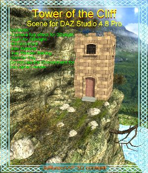 Tower of the Cliff 3D Models JeffersonAF