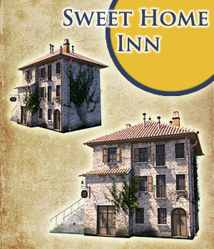 Sweet Home Inn 3D Models 1971s
