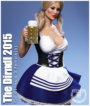 The Dirndl 2015 for Genesis 3 Female(s) 3D Figure Essentials outoftouch
