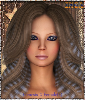 TDT-Inga for Genesis 2 Female(s) 3D Figure Essentials Deva3D