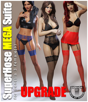 SuperHose Infinite MEGA Suite for Genesis 3 Female(s) - Upgrade 3D Figure Essentials outoftouch