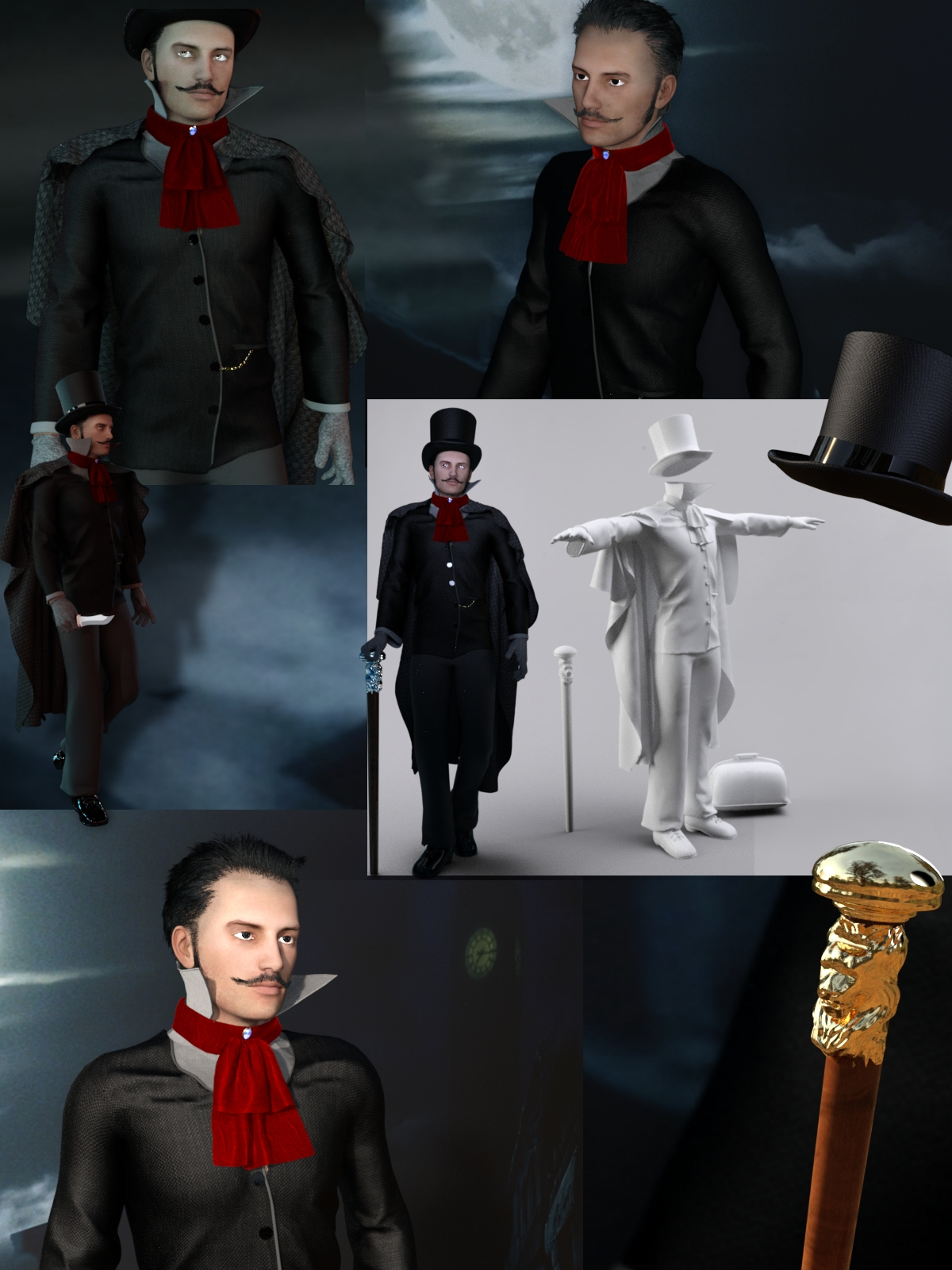 Jack The Ripper Suit for Gen2 Male