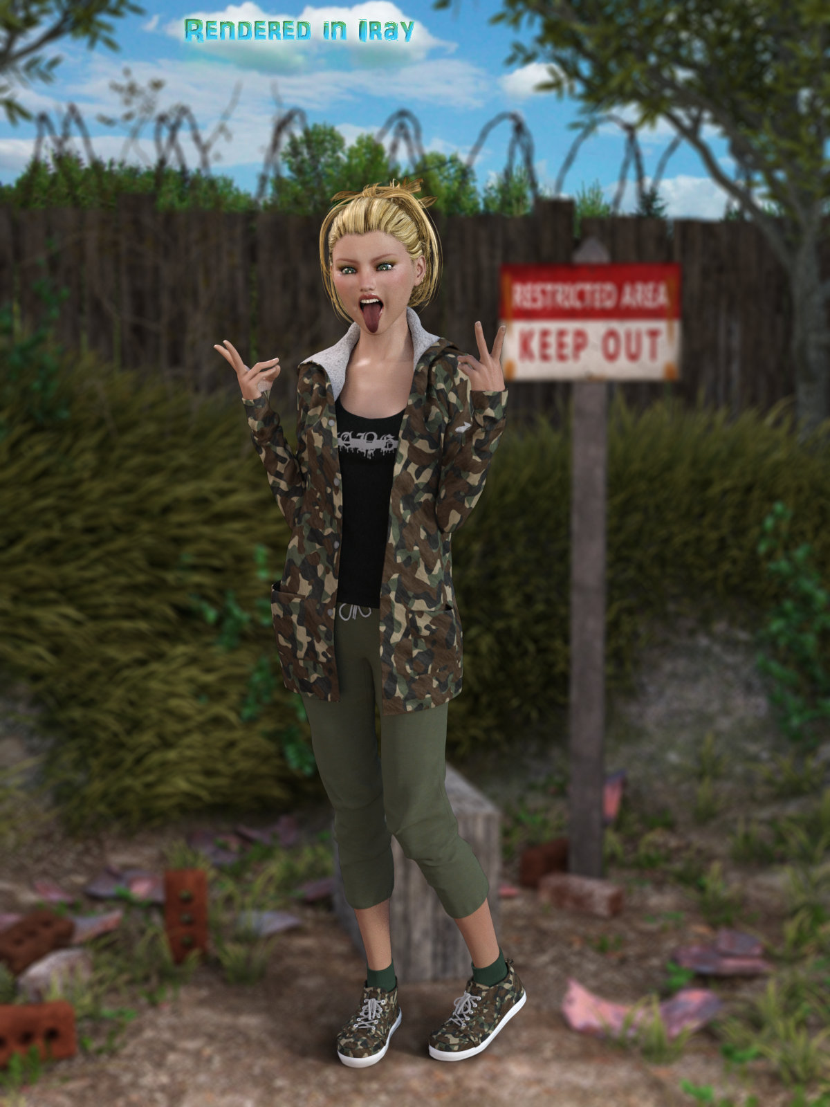 FB Camouflage Shaders For Daz Studio (Merchant Resource)