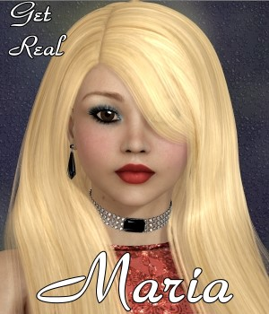 Get Real for Maria Hair 3D Figure Assets chrislenn