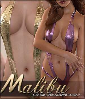 Malibu G3F 3D Figure Essentials Sveva
