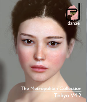 The Metropolitan Collection - Tokyo V4.2 3D Figure Assets danae