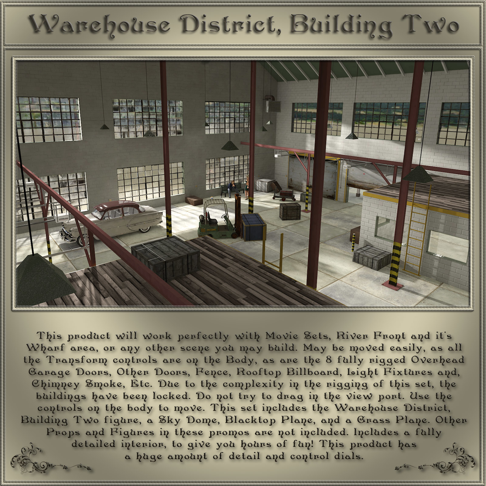 Warehouse District, Building 02