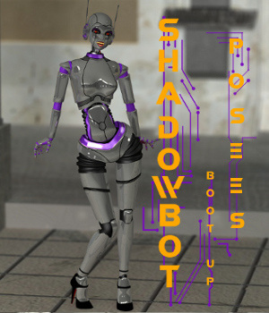 ShadowBot Poses 3D Figure Assets swhawk