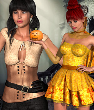 PM - Halloween II 2D Graphics Merchant Resources Atenais