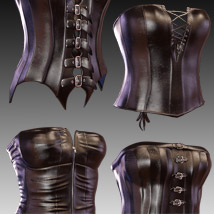 Corset Collection for Genesis 3 female(s) image 6