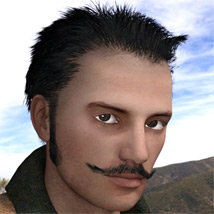 Jack The Ripper Hat, Hair & Mustache G2M image 4