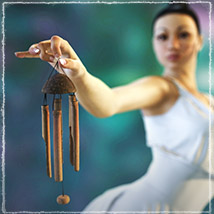 Photo Props: Bamboo Chimes - Extended License image 1