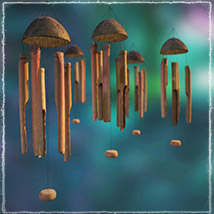Photo Props: Bamboo Chimes - Extended License image 2
