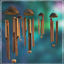 Photo Props: Bamboo Chimes - Extended License image 3