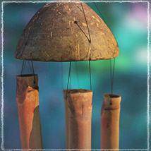 Photo Props: Bamboo Chimes - Extended License image 5