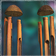 Photo Props: Bamboo Chimes - Extended License image 6