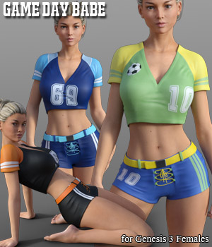 Game Day Babe for G3 by RPublishing