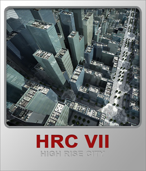 HRC VII Glass High Rises 3D Models whitemagus