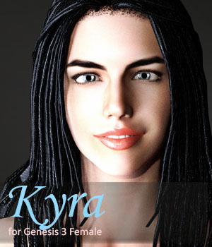 Kyra for Genesis 3 Female 3D Figure Assets xtrart-3d